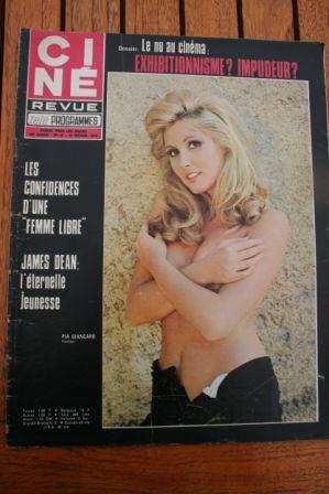 Magazine 1970 Raquel Welch Pia Gancaro Jacques Brel James Dean Britt Ekland